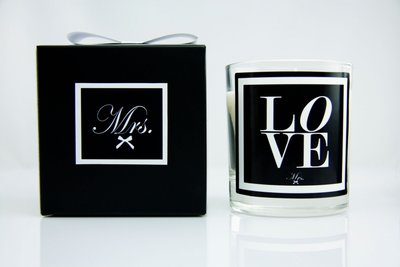 LOVE scented candle 270 gr