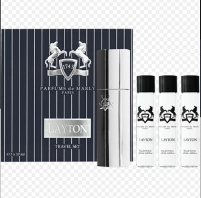 Layton Eau de Parfum Travel Set 3x10
