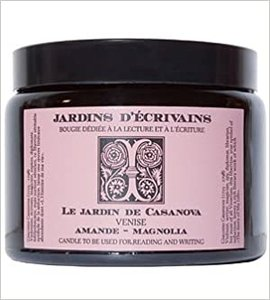 Le Jardin de Casanova perfumed Candle 500 gr