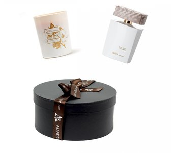 Rose Irisee 100 ml with free perfumed candle 180 gr and giftbox