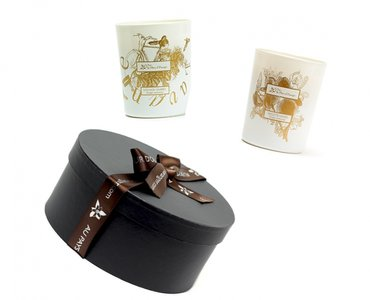 Giftbox with 3 Perfumed candles 180 gr each